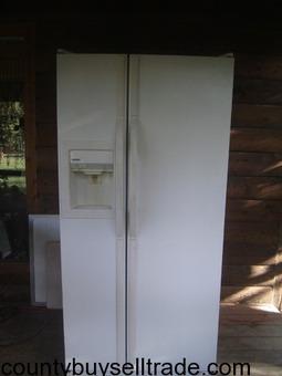 kenmore side by side ref./freezer