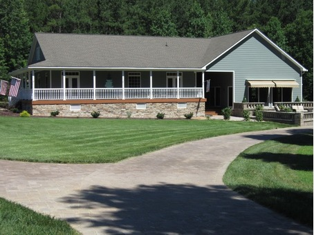 New Kent Pristine Ranch on 16.75 acres with Custom home & 5,000 sf Garage - Bunkhouse
